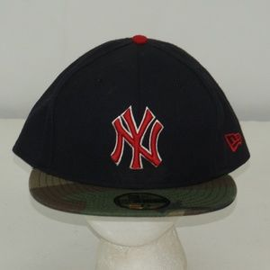 MENS NEW ERA 59 FIFTY MLB NEW YORK YANKEES HAT